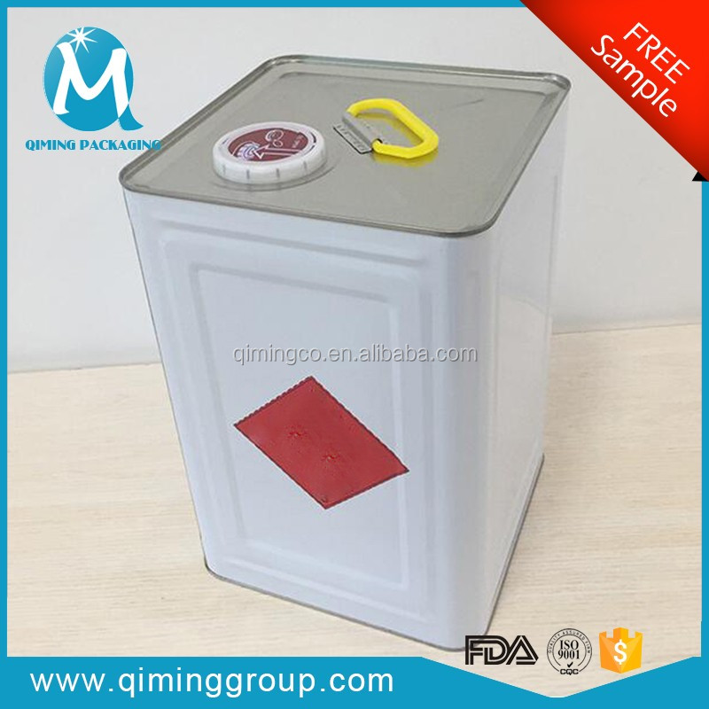 Top Products Hot Selling New Tin Can Square For Diluent Thinner