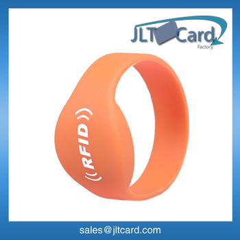 HF CHIP ntag203 waterproorf silicone rfid wristband
