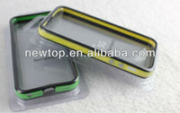 BUMPER CASE FOR IPHONE 4 4S, 20 COLOURS AVAILABLE, WITH METAL BUTTONS