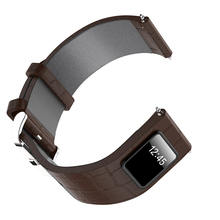 ODM 20mm/21mm/22mm blue brown black smart leather strap watch