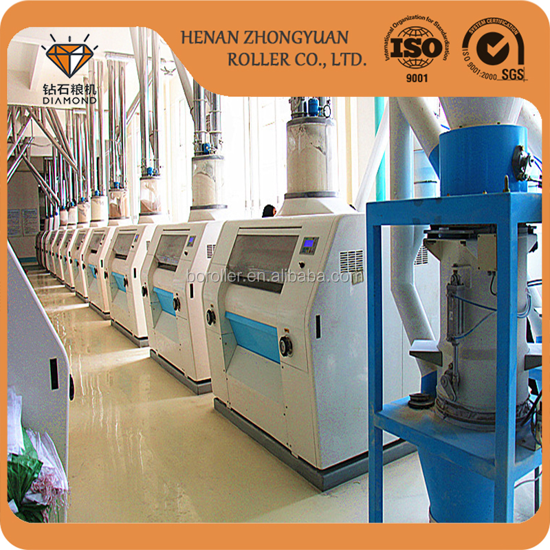 Agriculture wheat flour milling machines with price made in china