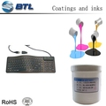 one-component conductive ink usd in silicone product with good appearance after printing