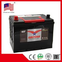 korean style JIS 12V65AH Various models ns70mf car battery