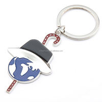 simulation food key chain chain pants keyring with chain