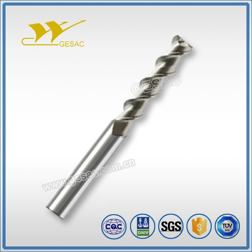 2 Flute Long Flute Length milling tools for Aluminum Milling