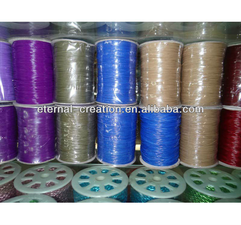 waxed polyester thread waxed hand sewing threads waxed polyester embroidery thread