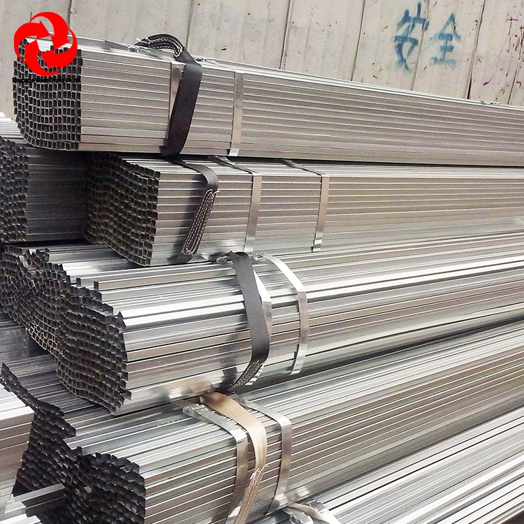 China Wholesale Q195 Q235 Square Round ERW Welded galvanized Hollow Section Steel Tube / Pipe