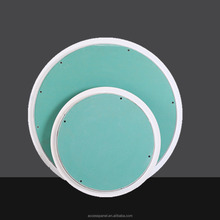 Round access panel for walls and ceilings with plaster boad