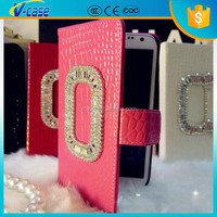 Beautiful fashion duable wallet leather case for samsung galaxy s4 active