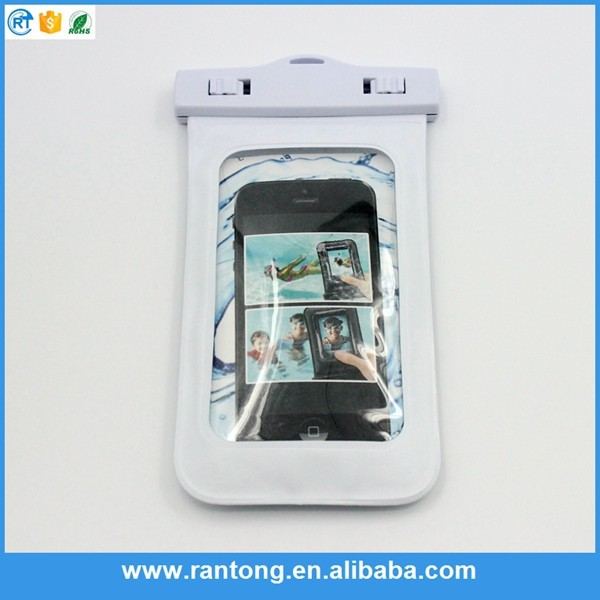 Newest product excellent quality portable swimming waterproof phone case 2015
