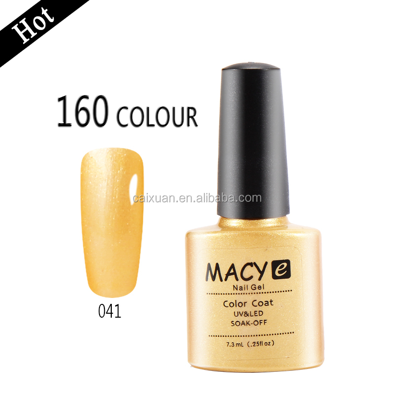 Private label color gel polish Macy most popular Macy series colors nail gel polish china manufacturer