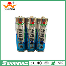 Zn/MnO2 Battery Type and 1.5V Nominal Voltage Alkaline battery LR6 am3