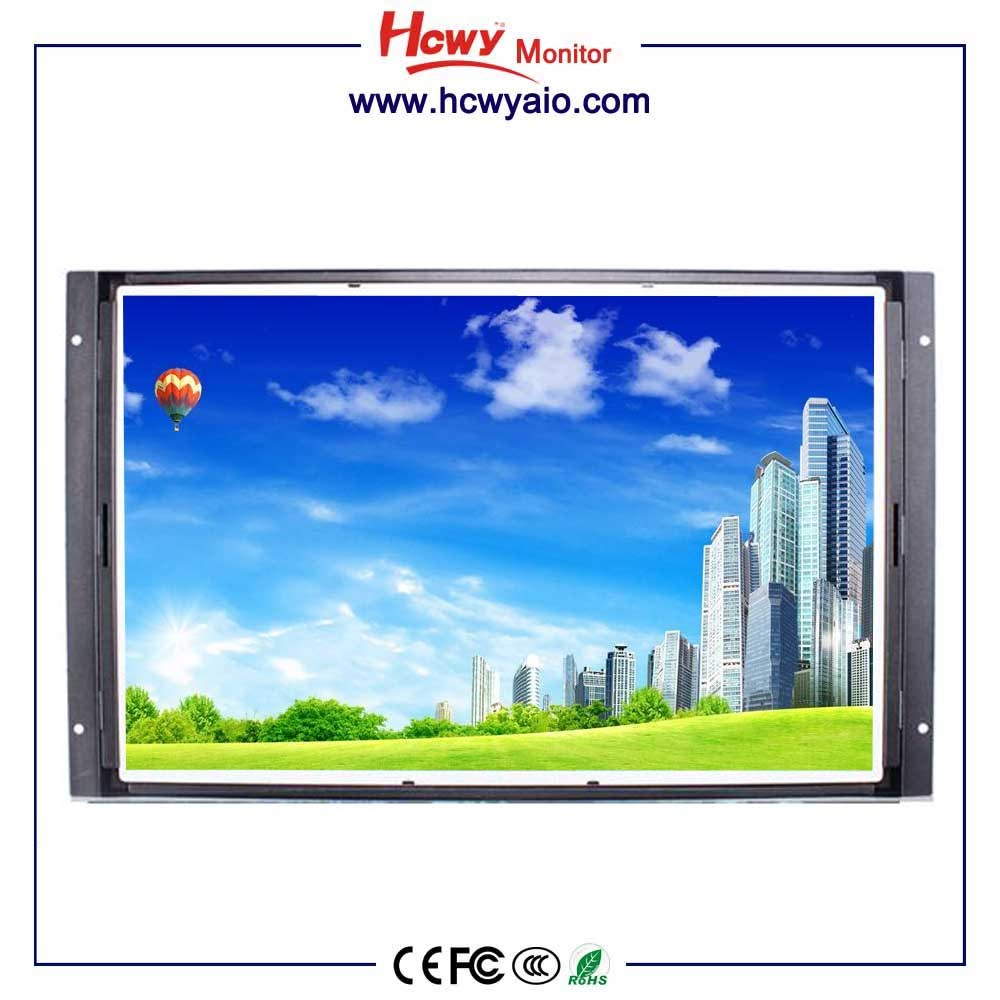 VGA,DVI Interface Type and 22 Screen Size industrial touch lcd/led monitor open frame