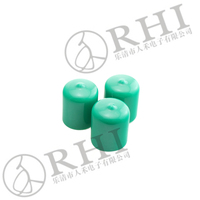 PVC short cap for 10mm aluminium tubes, 12mm aluminum pipe end caps