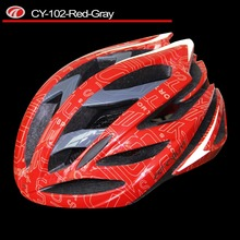 Lightness high density PC+EPS bicycle helmet with CE helmet colorful bike helmet CY-102