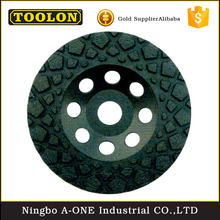 Turbo Diamond Grinding Cup Wheel Diamond Grinding Wheel For Concrete Marble
