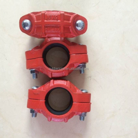 Ductile iron style 77 standard flexible clamp coupling