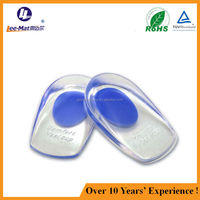 High quality medical Grade Silicone gel foot pad, massage reducing friction shoes cushion