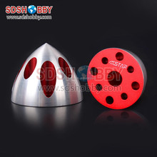 6STARHOBBY Solid Special Spinner-Red Color for DLE30, DLE35RA, DLE40, DLE50, DLE55, DLE55RA, DLE60, DLE61, MLD35/70, EME60