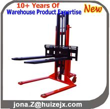 Semi-Electric Straddle Legs Forklift Stacker
