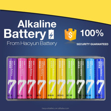 LEBAO AAA Size and 1.5V Nominal Voltage 1.5v aaa am4 lr03 alkalinebattery