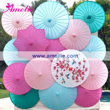 A03131 Colors Paper Umbrella Party Decoration