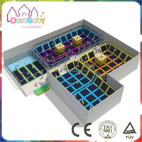New factory price for indoor trampoline park, high quality trampoline playground