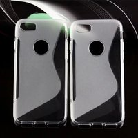Back Cover Mobile Phone S Line Tpu Case For iphone 7 TPU S line case for iPhone7