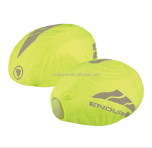 100% Polyester Waterproof Bicycle Helmet Cover with Reflective Tape