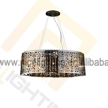 Ceiling fan lamp lights for home crystal chandelier smart lighting by mail order