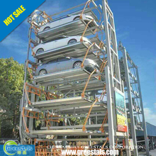 High Quality Multi Layer Intelligent Vertical Lifting smart Parking system Equipment