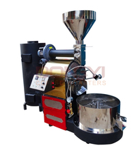 Gas Stainless Steel Commercial Automatic Coffee Bean Roaster for DY-6kg