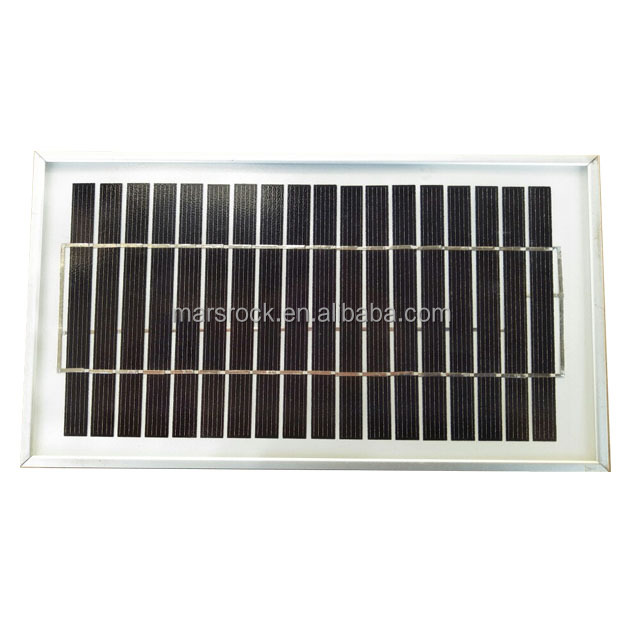 Mars Rock 3W 9V Small solar panel with Aluminum Alloy Frame Polycrystalline Silicon Solar Panel