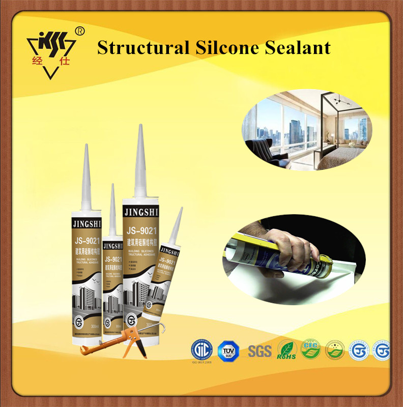 high performance one component acetic transparent Neutral Silicone Structural Sealant for concrete joints