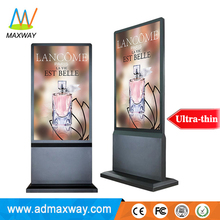 55 inch Wifi Android Lcd Advertising Display Screen, Indoor Floor Stand Digital Signage Player