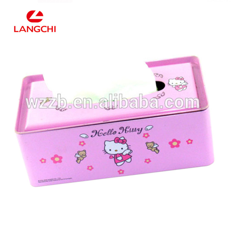 Professional Factory Made Delicate Metal Tissue Box Wholesale