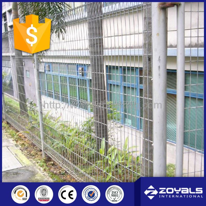 Pvc Coated Wire Welded Mesh Fencing Panels
