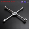 Professional Full Size Cross Tire Wrench Manufacturers , 4-Way Universal Lug Cross Wrench