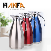 18/8 vacuum coffee pot warmer carafe 1L to 2L stainless steel coffee thermos