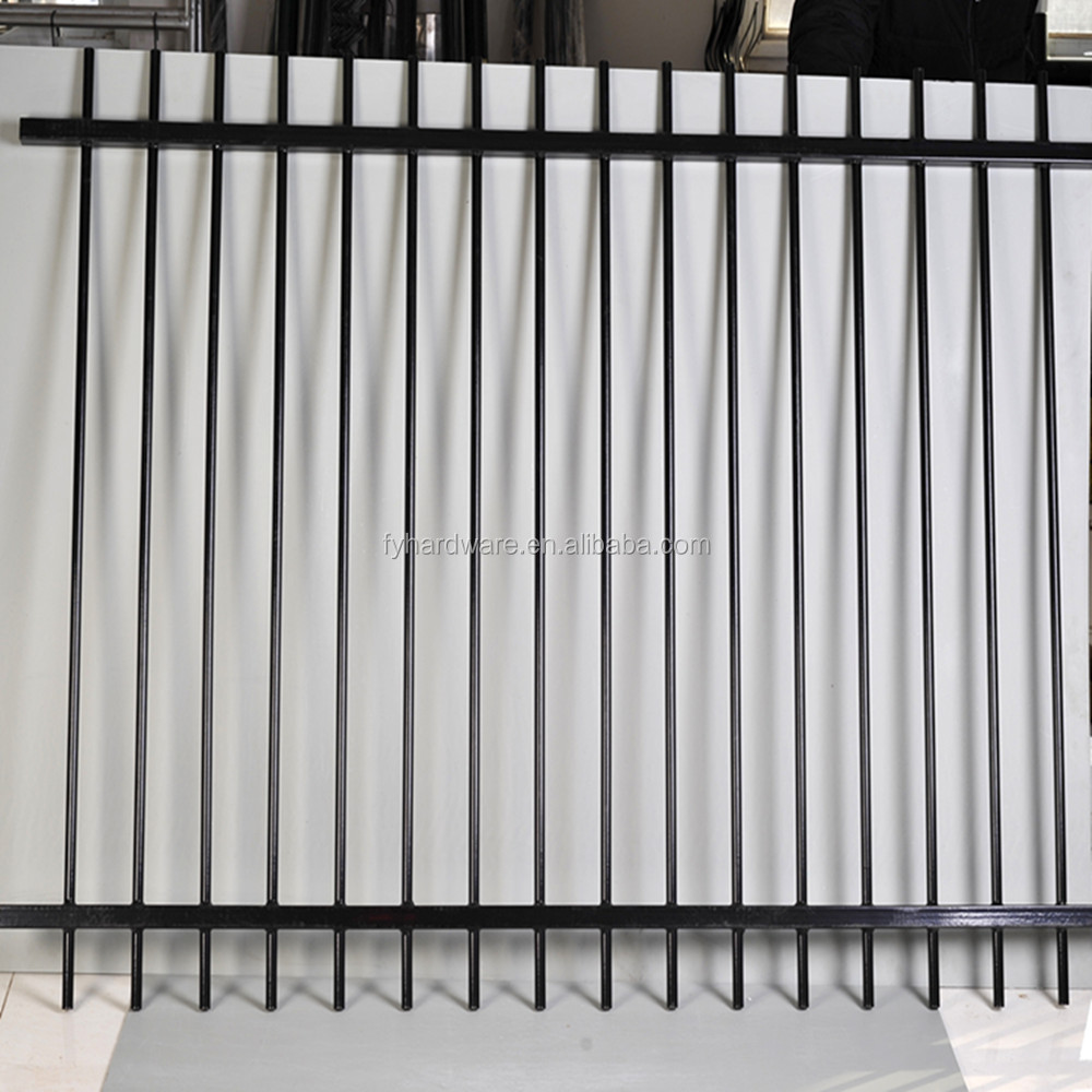 China factory supply good quality security wrought iron fence panel