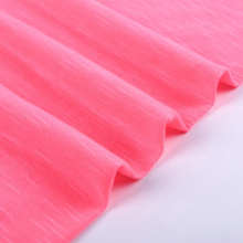 Small order slub 100% polyester fabric names dacron fabric price