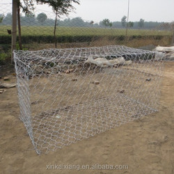 Sales!!galvanized woven welded Gabion basket /gabion Stone cages/Gabion boxes wire cage rock wall(China manufacturer)