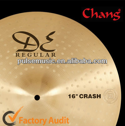"Hot Sale Chang Istanbul 16"" Crash Cymbals For Musical Instruments"