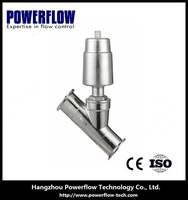 stainless steel pneumatic hydraulic gas valve cock G 3'' DN80 low price check south africa clamp connection
