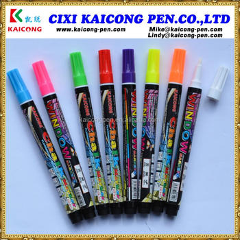 iPOSCA Water-based Window Marker Liquid Chalk Marker Dry glass marker glass pen chalk pen blackboard marker pen