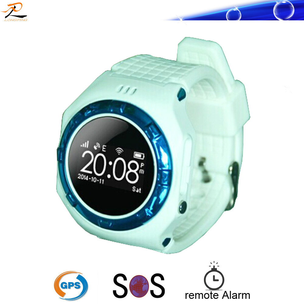 2015 hotest gps sos wrist pocket watch for kids