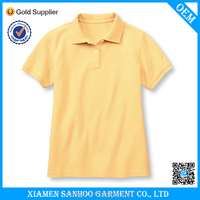 China Factory Free Sample High Quality Cheap Plain Polo Shirt For Uniform