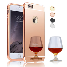High Quality Electroplate Mirror Back Cover + Metal Aluminum Bumper Frame Case for Lenovo K3 Note/K3/K900