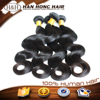 unprocessed full cuticle Indian temple hair waterproof hair extensions black star hair weave