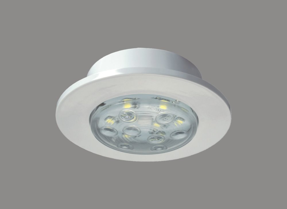 2w 12v led recessed cabinet light 12 volt caravan led lighting led